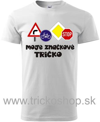 767540b17ebb Pánske tričko značkové tričko