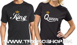 Duo čierne King Queen 1
